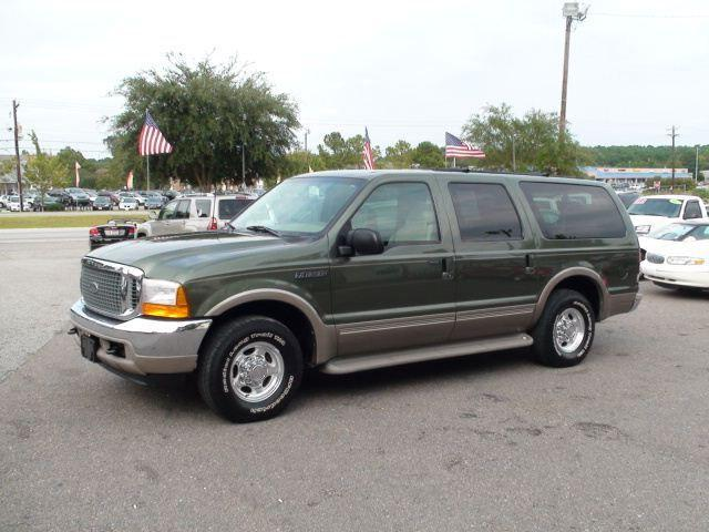 2001 ford excursion limited for sale in north charleston south. Black Bedroom Furniture Sets. Home Design Ideas