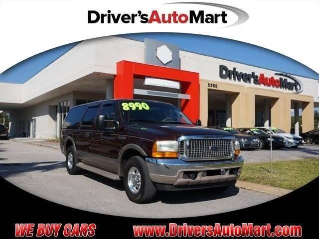 2001 ford excursion limited for sale in cooper city florida classified. Black Bedroom Furniture Sets. Home Design Ideas