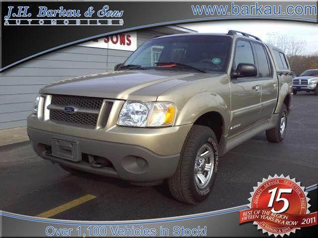 2001 ford explorer sport trac for sale in cedarville illinois classified. Black Bedroom Furniture Sets. Home Design Ideas
