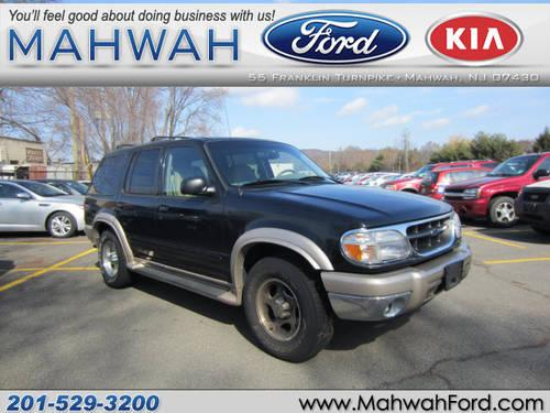 2001 ford explorer suv 4x4 eddie bauer for sale in mahwah new jersey classified. Black Bedroom Furniture Sets. Home Design Ideas