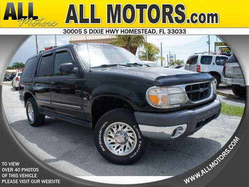 2001 Ford Explorer Suv Awd Xlt For Sale In Homestead