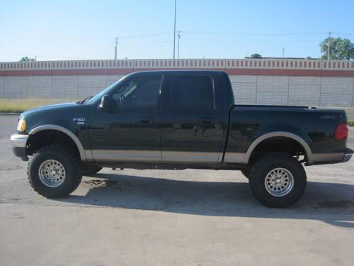 2001 ford f 150 supercrew 4x4 5 4l v8 new lift and new 35 mud t for sale in canyon lake texas. Black Bedroom Furniture Sets. Home Design Ideas