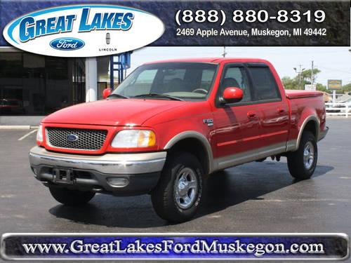 2001 ford f 150 supercrew 4x4 lariat for sale in meskegon michigan classified. Black Bedroom Furniture Sets. Home Design Ideas