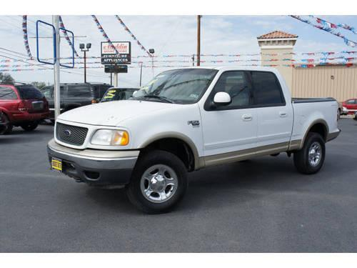 2001 ford f 150 supercrew 4x4 xlt for sale in cottonwood shores texas classified. Black Bedroom Furniture Sets. Home Design Ideas