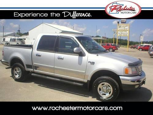 2001 ford f 150 supercrew crew cab pickup xlt for sale in rochester minnesota classified. Black Bedroom Furniture Sets. Home Design Ideas