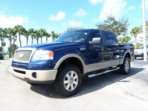 2001 ford f 150 supercrew lariat white truck for sale in. Black Bedroom Furniture Sets. Home Design Ideas
