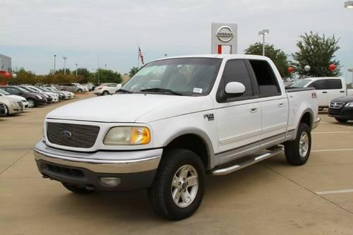 2001 Ford F 150 Supercrew Pickup Truck Lariat For Sale In