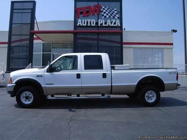 2001 ford f 350 lariat crew cab 7 3l v8 diesel for sale in kearney missouri classified. Black Bedroom Furniture Sets. Home Design Ideas