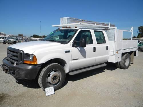 East County Preowned Superstore >> 2001 Ford F-550 4X4 Crew Cab Utility Truck for Sale in Vallejo, California Classified ...