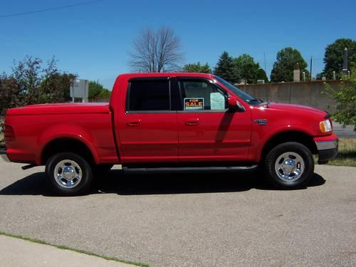 2001 ford f150 crew cab lariot 4x4 for sale in galesburg michigan classified. Black Bedroom Furniture Sets. Home Design Ideas