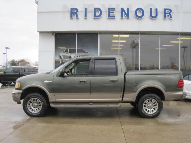 2001 ford f150 king ranch for sale in new lexington ohio classified. Black Bedroom Furniture Sets. Home Design Ideas