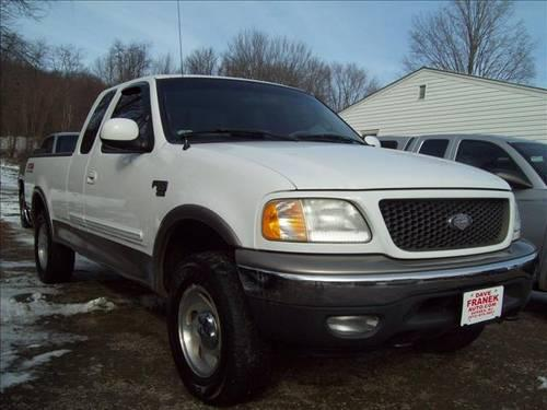 2001 Ford F150 Pickup Truck XLT SuperCab Short Bed 4WD