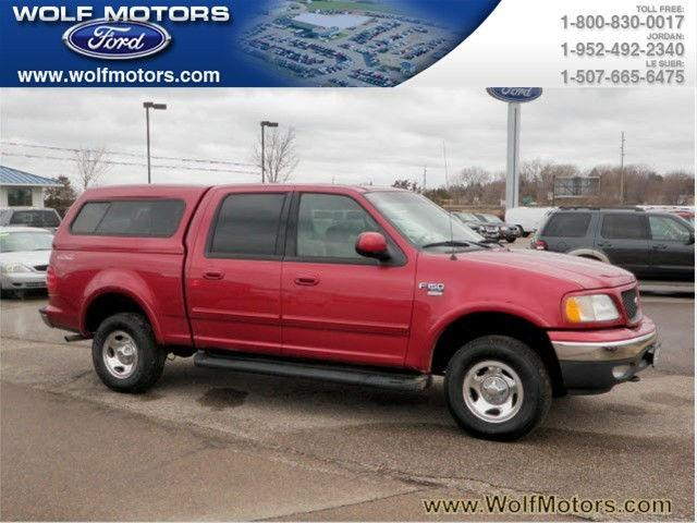 2001 Ford F150 Xlt For Sale In Jordan Minnesota