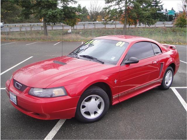 2001 ford mustang base for sale in burien washington. Black Bedroom Furniture Sets. Home Design Ideas