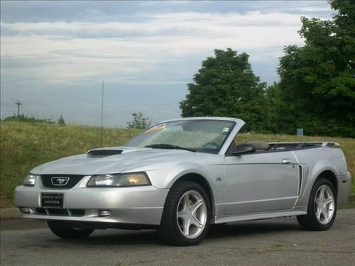 2001 ford mustang convertible gt premium for sale in alexander mills north carolina classified. Black Bedroom Furniture Sets. Home Design Ideas