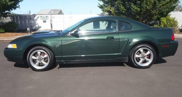 2001 ford mustang gt bullitt for sale in eugene oregon. Black Bedroom Furniture Sets. Home Design Ideas