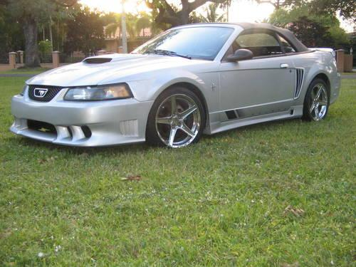 2001 ford mustang saleen convertible for sale in miami florida classified. Black Bedroom Furniture Sets. Home Design Ideas