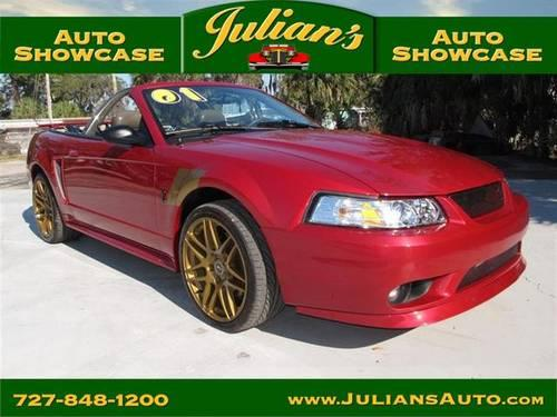 Julians Auto Showcase >> 2001 Ford Mustang Two Door Coupe Svt Cobra Convertible For