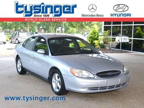 2001 ford taurus 4d sedan ses for sale in hampton Tysinger motor company