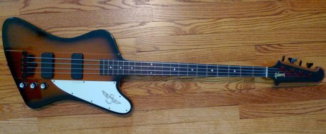 2001 Gibson Thunderbird Bass IV 4 String Original Case