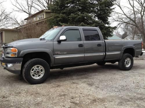 2001 gmc duramax 4x4 crew cab long bed for sale in elkhart indiana classified. Black Bedroom Furniture Sets. Home Design Ideas