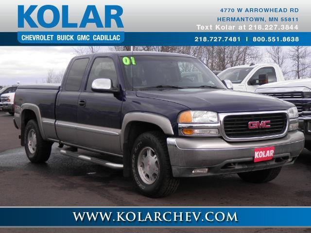 2001 gmc sierra 1500 sl 4dr extended cab sl 4wd lb for sale in duluth minnesota classified. Black Bedroom Furniture Sets. Home Design Ideas