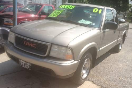 2001 gmc sonoma extended cab pickup for sale in baresville pennsylvania classified. Black Bedroom Furniture Sets. Home Design Ideas
