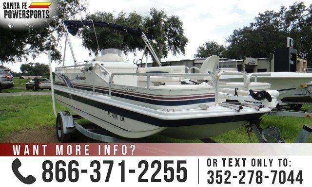 2001 Godfrey Hurricane - USED BOAT