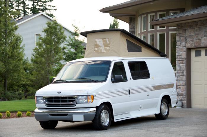 2001 Gtrv Westy Pop Top Class B Camper Van For Sale In