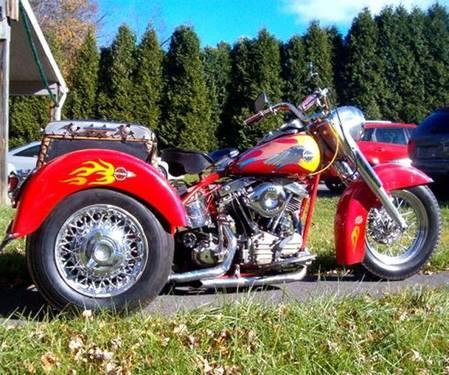 2001 HARLEY DAVIDSON TRIKE MOTORCYCLE,OLD SCHOOL for sale in ...