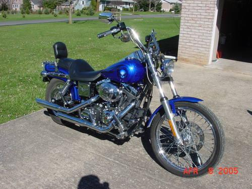 2001 Harley Dyna Wideglide Fxdwg Rare Radical Paint Set