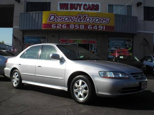 2001 honda accord ex sedan at for sale in azusa. Black Bedroom Furniture Sets. Home Design Ideas