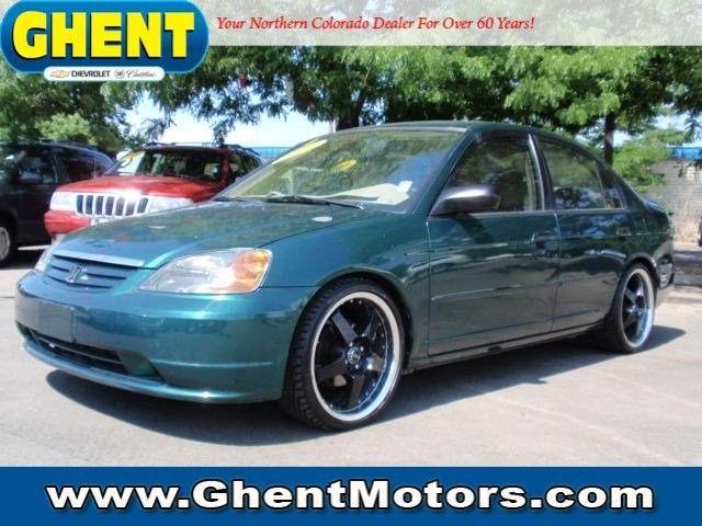 2001 Honda Civic Lx For Sale In Greeley Colorado