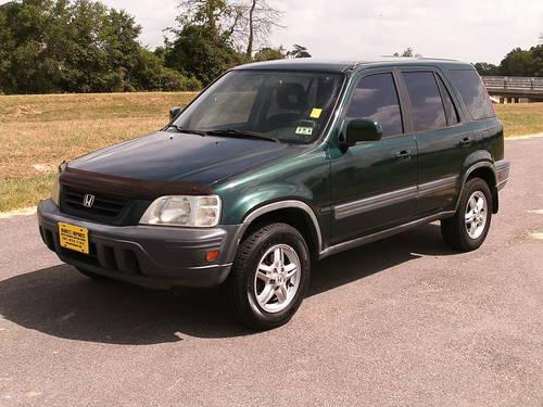 2001 honda cr v ex 4x4 5 speed suv with 1 owner carfax for Honda large suv