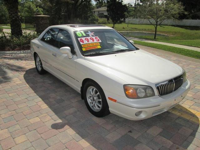 2001 hyundai xg 300 pearl white for sale in melbourne florida classified. Black Bedroom Furniture Sets. Home Design Ideas