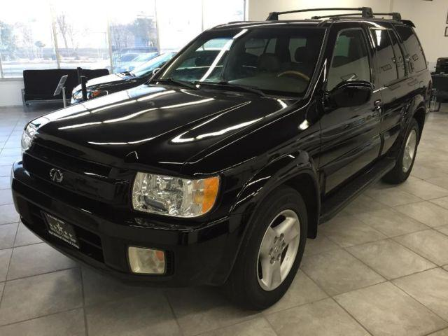2001 infiniti qx4 black reliable suv clean interior runs excellent for sale in gold river. Black Bedroom Furniture Sets. Home Design Ideas
