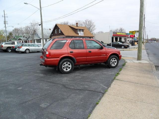 2001 isuzu rodeo ls 4wd for sale in salisbury maryland classified. Black Bedroom Furniture Sets. Home Design Ideas
