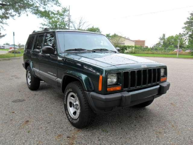 2001 jeep cherokee sport for sale in lansing michigan classified. Black Bedroom Furniture Sets. Home Design Ideas