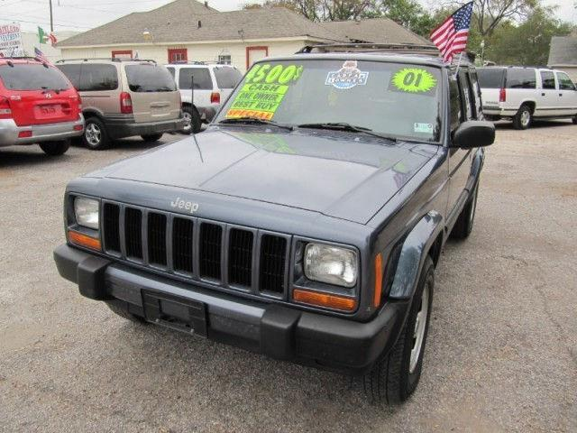 2001 jeep cherokee sport for sale in houston texas classified. Black Bedroom Furniture Sets. Home Design Ideas