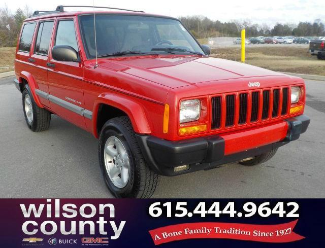 2001 Jeep Cherokee Sport Sport 2wd 4dr Suv For Sale In