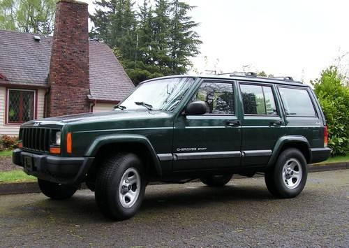 2001 Jeep Cherokee Square Body 4x4 One Owner PRICE REDUCED ...
