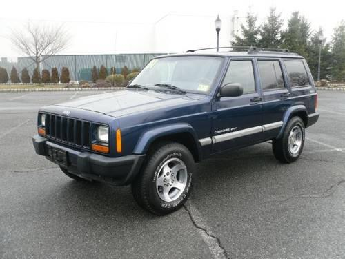 2001 jeep cherokee suv sport 4 door 4wd for sale in saddle brook new. Cars Review. Best American Auto & Cars Review