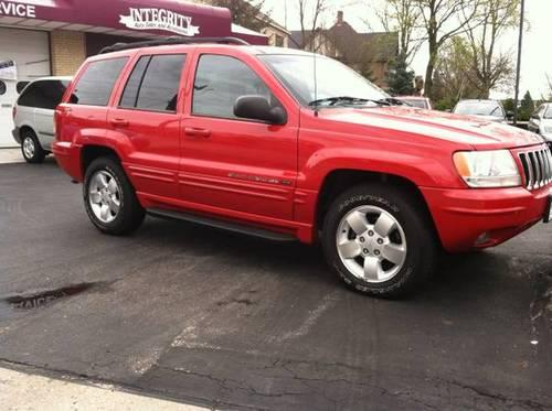 2001 jeep grand cherokee v8 red auto 118k mi for sale in sun prairie wisconsin classified. Black Bedroom Furniture Sets. Home Design Ideas