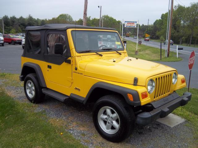2001 jeep wrangler se for sale in lebanon pennsylvania classified. Black Bedroom Furniture Sets. Home Design Ideas