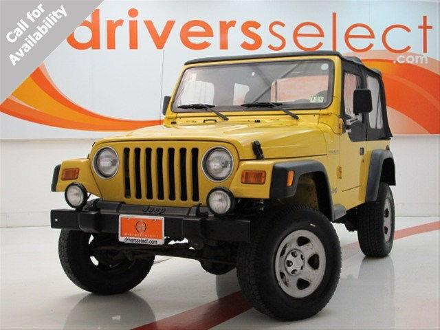 2001 jeep wrangler se for sale in dallas texas classified. Black Bedroom Furniture Sets. Home Design Ideas