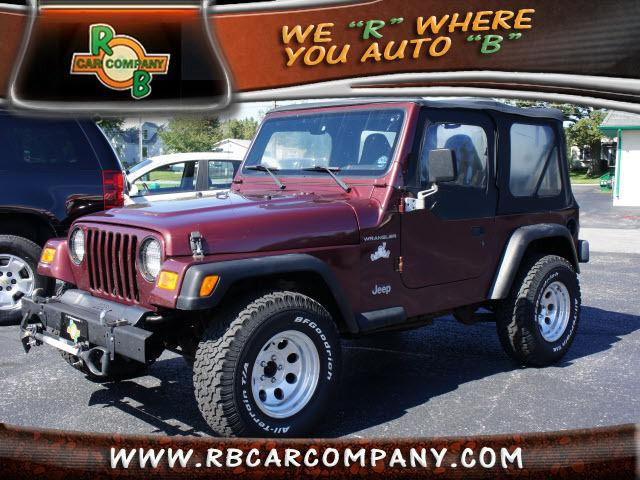 2001 jeep wrangler se for sale in columbia city indiana classified. Black Bedroom Furniture Sets. Home Design Ideas