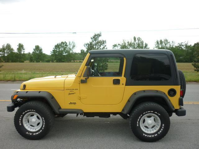 2001 Jeep Wrangler Sport for Sale in Farmville, North ...