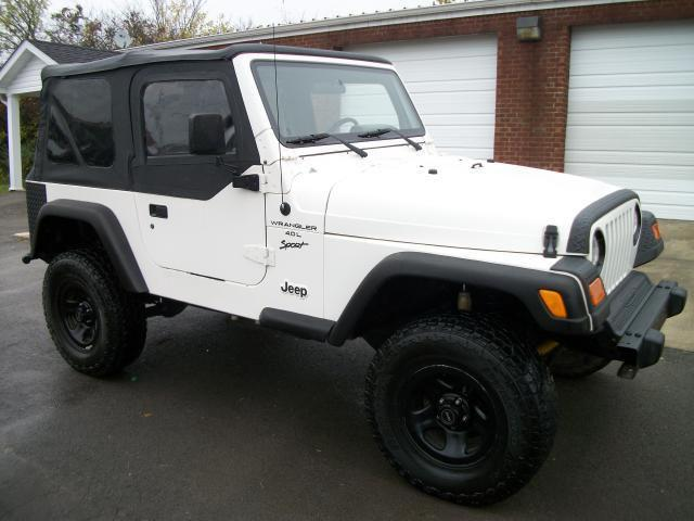 2001 jeep wrangler sport for sale in shelbyville tennessee classified. Black Bedroom Furniture Sets. Home Design Ideas