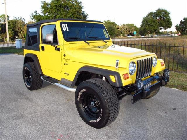 2001 jeep wrangler sport for sale in bartow florida. Black Bedroom Furniture Sets. Home Design Ideas