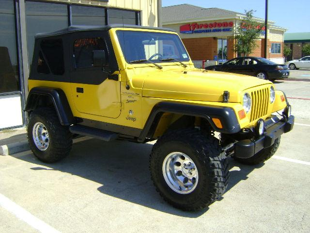 2001 jeep wrangler sport for sale in wylie texas. Black Bedroom Furniture Sets. Home Design Ideas